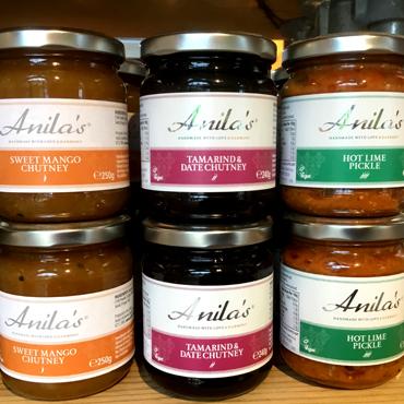 Anila's Curry Sauce & Chutney