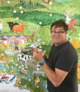 Guy Venables Local Food Map